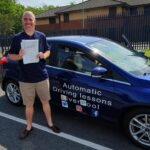 Mark Passing driving test