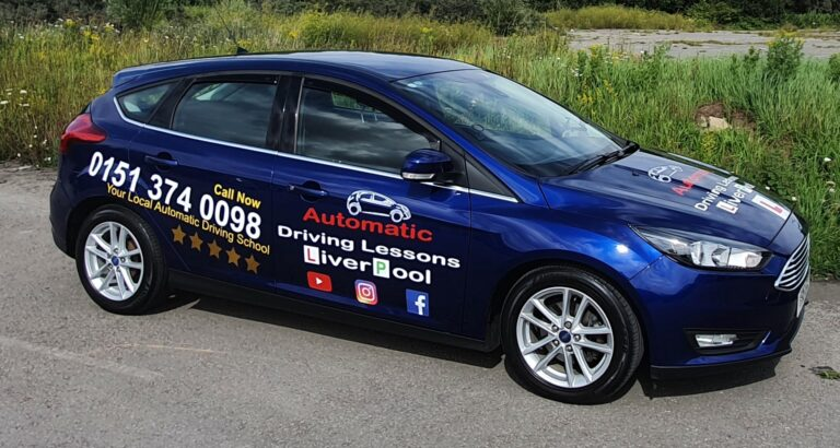 Automatic Driving Lessons Liverpool