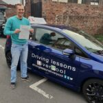 Another 1st time pass for Driving Lessons Liverpool
