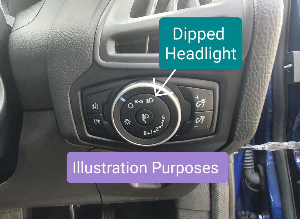 Dipped Headlight Switch